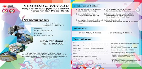 Seminar & Wet Lab